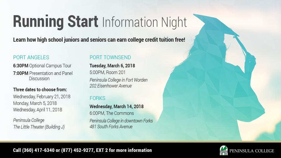 Running Start Information Night Winter 2018