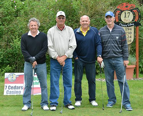 Jerry Allen, Bernie Fryer, Ron Sather, Ken Lane