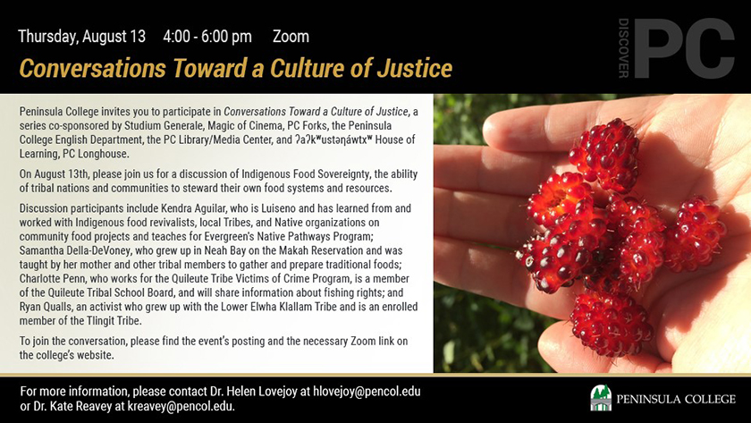 Conversations Towards a Culture of Justice