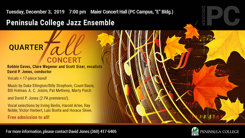 Jazz Ensemble Fall Concert