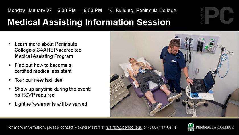 Medical Assisting Information Session
