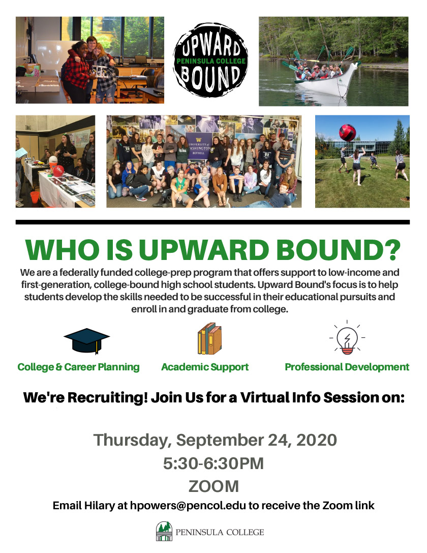 Upward Bound Info Session