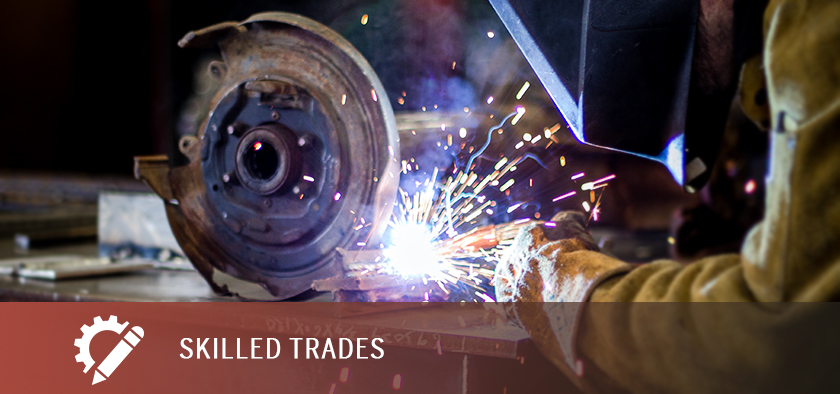 Areas of Study - Skilled Trades