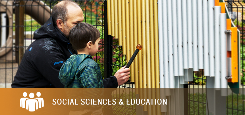 Areas of Study - Social Sciences and Education