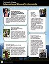 International Alumni Testimonials