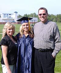 Jim Jones, Debbie and daughter Jodie