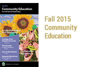Fall 2015 Community Education Catalog