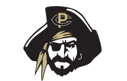 athletics mascot logo pirate head