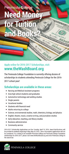 Scholarship Rack Card Download