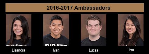 2016-17 PC Ambassadors