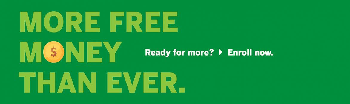 We have more free money for you for college than ever before